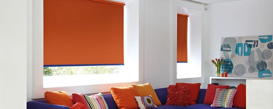 Ρόλερ Blackout Μονόχρωμα - Foundoulis Fabrics