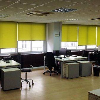 Συστήματα σκίασης σε επαγγελματικούς χώρους & γραφεία
