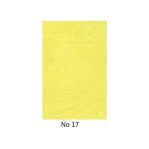 Γάζες Διακόσμησης Χρώμα Κίτρινο
