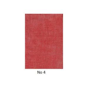 Γάζες Διακόσμησης Χρώμα Κόκκινο