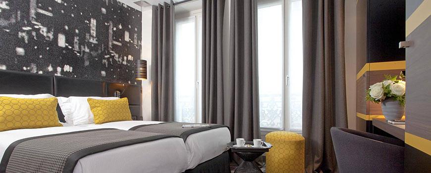 Κουρτίνες Ριντό Ξενοδοχείου Με Σχέδια - Foundoulis Fabrics